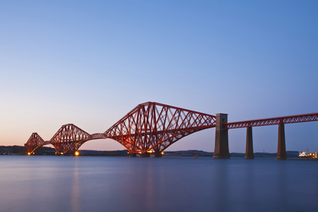 Forth Road Bridge Edinburgh
