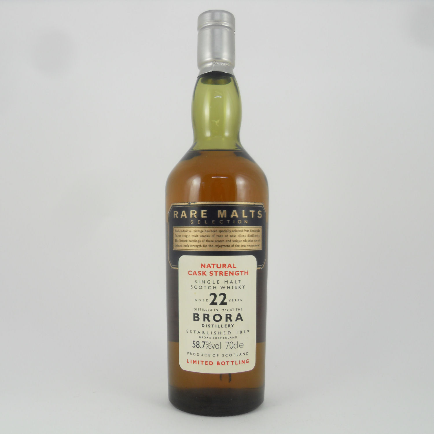 Brora Scotch Whisky