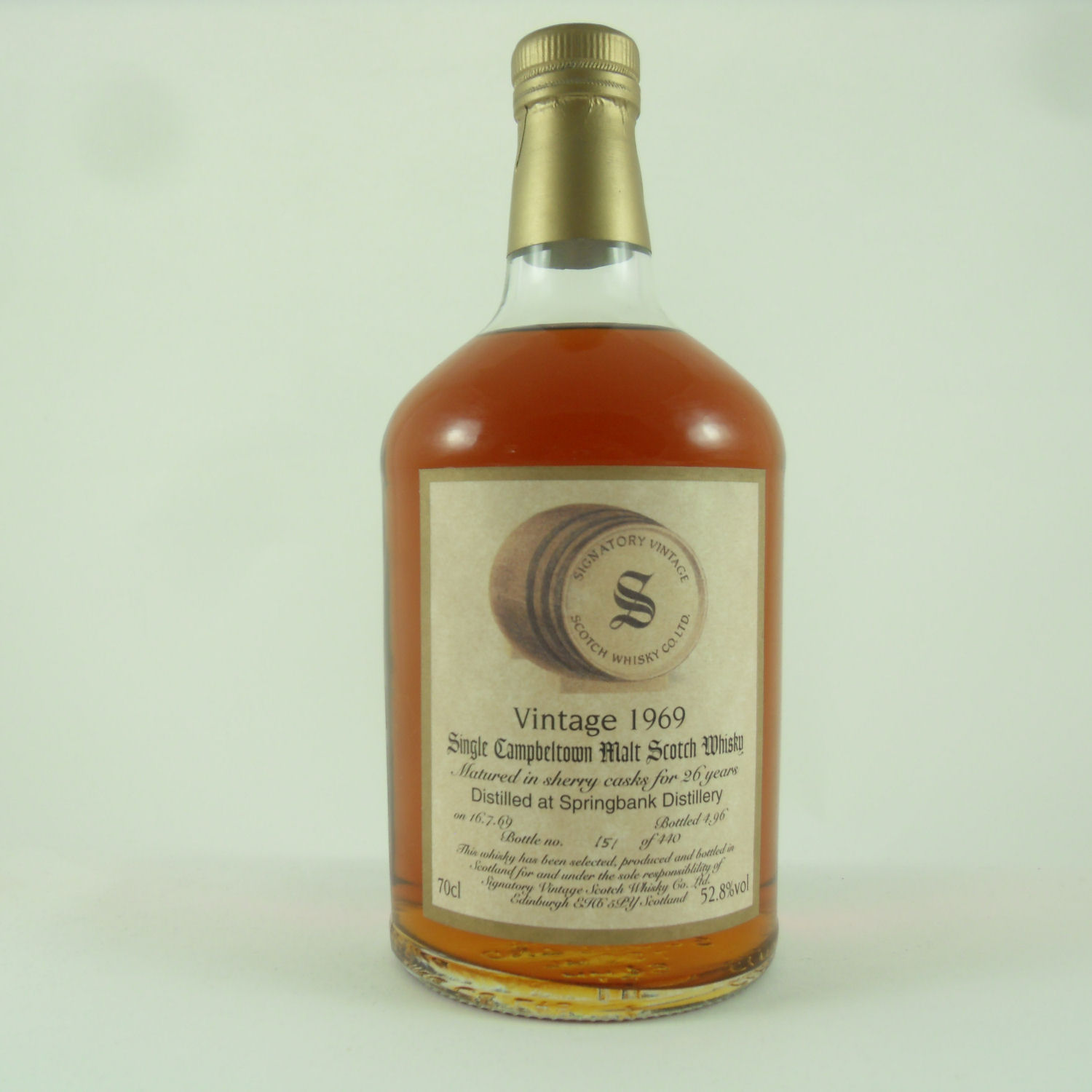 Springbank Scotch Whisky